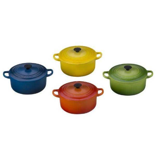 Le Creuset Mg0414 Mc Round Magnets Set Of 4 Multicolor