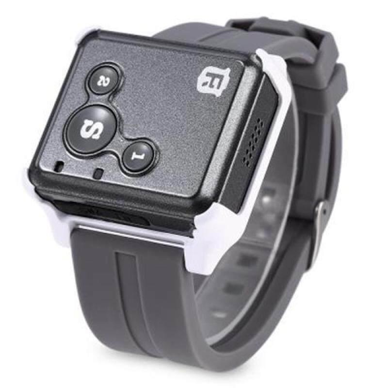 RF-V16 REAL-TIME GSM GPRS GPS TRACKER SOS COMMUNICATOR EMERGENCY LOCATOR FOR KIDS ELDERLY (BLACK) Malaysia