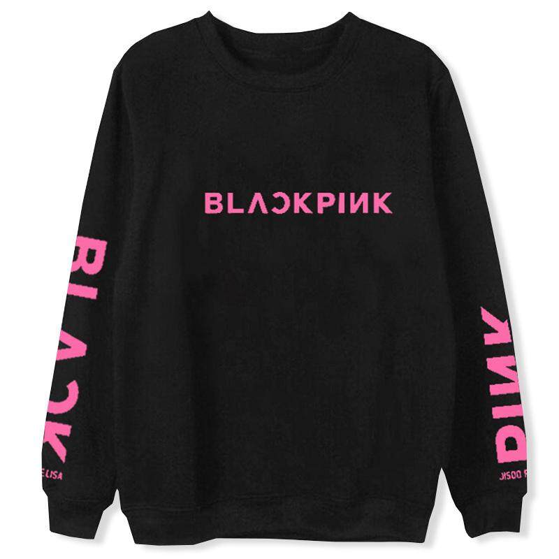 Sys Kpop Blackpink Jennie Jisoo Lisa Rose Pullover Sweatshirt Korea Fashion Sweater By Saiyousun.