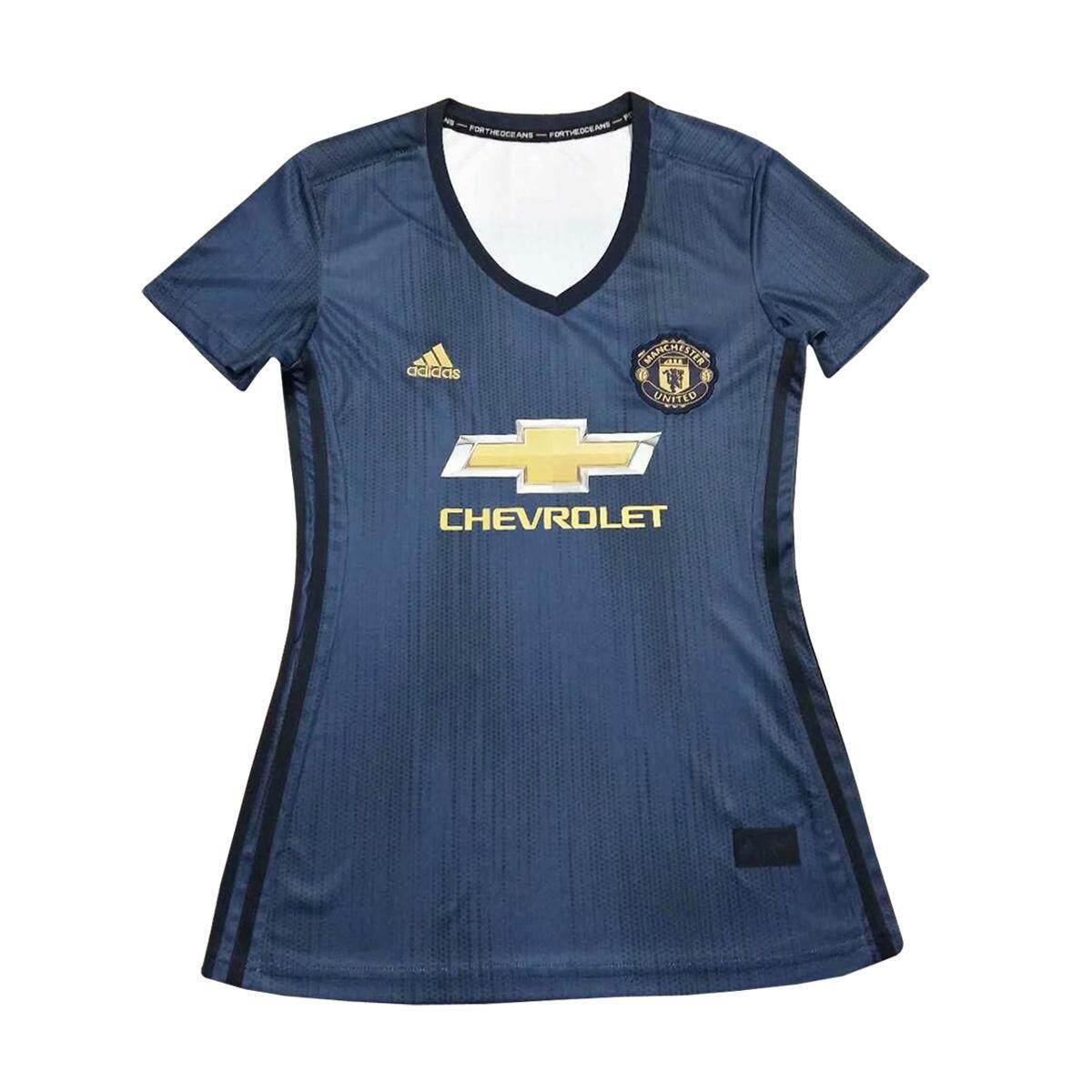 Manchester Utd Third 3rd 2018/19 Jersey For Women Epl By Pasca Niaga.