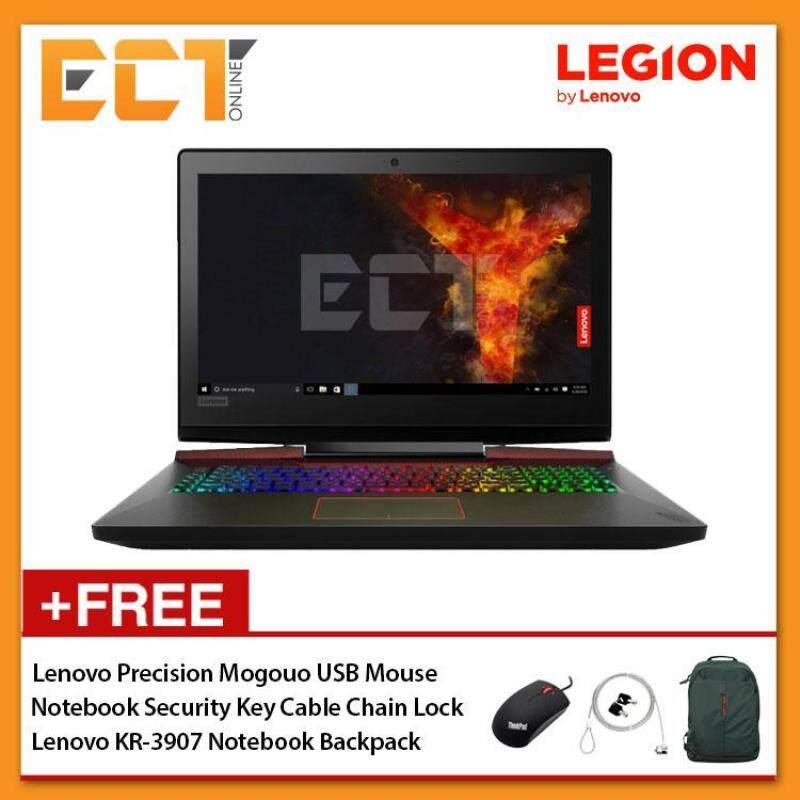 Lenovo Legion Y920-17IKB 80YW0030MJ Gaming Laptop (i7-7820HK 3.90GHz,2TB+256GB SSD,32GB,GTX1070-8G,17.3 FHD,W10) - Black Malaysia