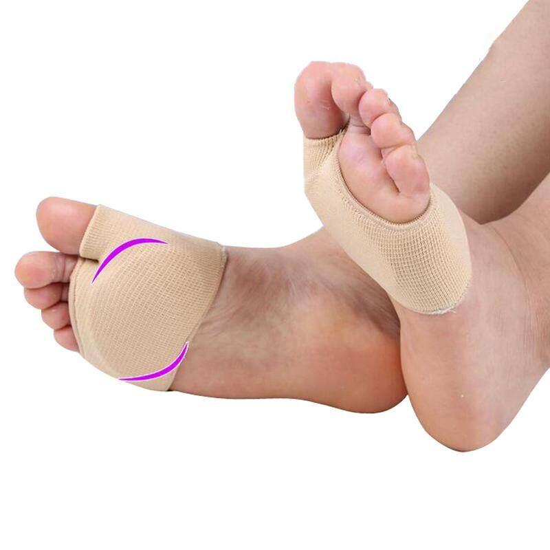 1 Pair Forefoot Pad Silicone Gel Toes Separator Corns Fasciitis Plantar Massage Cushion Insoles Orthopedic Foot Care Socks By Hangzhou Yunchi Tecnology Company Ltd.