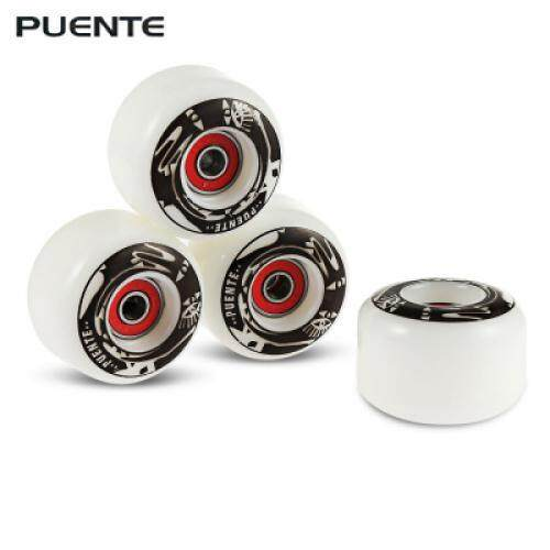 4pcs Skateboard Wheels For Ollie Punk And Jumping (black) By Ks-Enterprise.