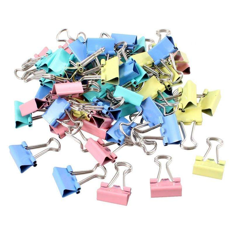 60 Pcs Metal Assorted Color File Paper Binder Clips By Sunshineyou.