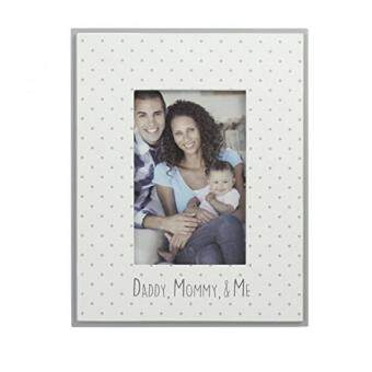 Shock Price Azzure Home Daddy Mommy Me 4x6 Frame White