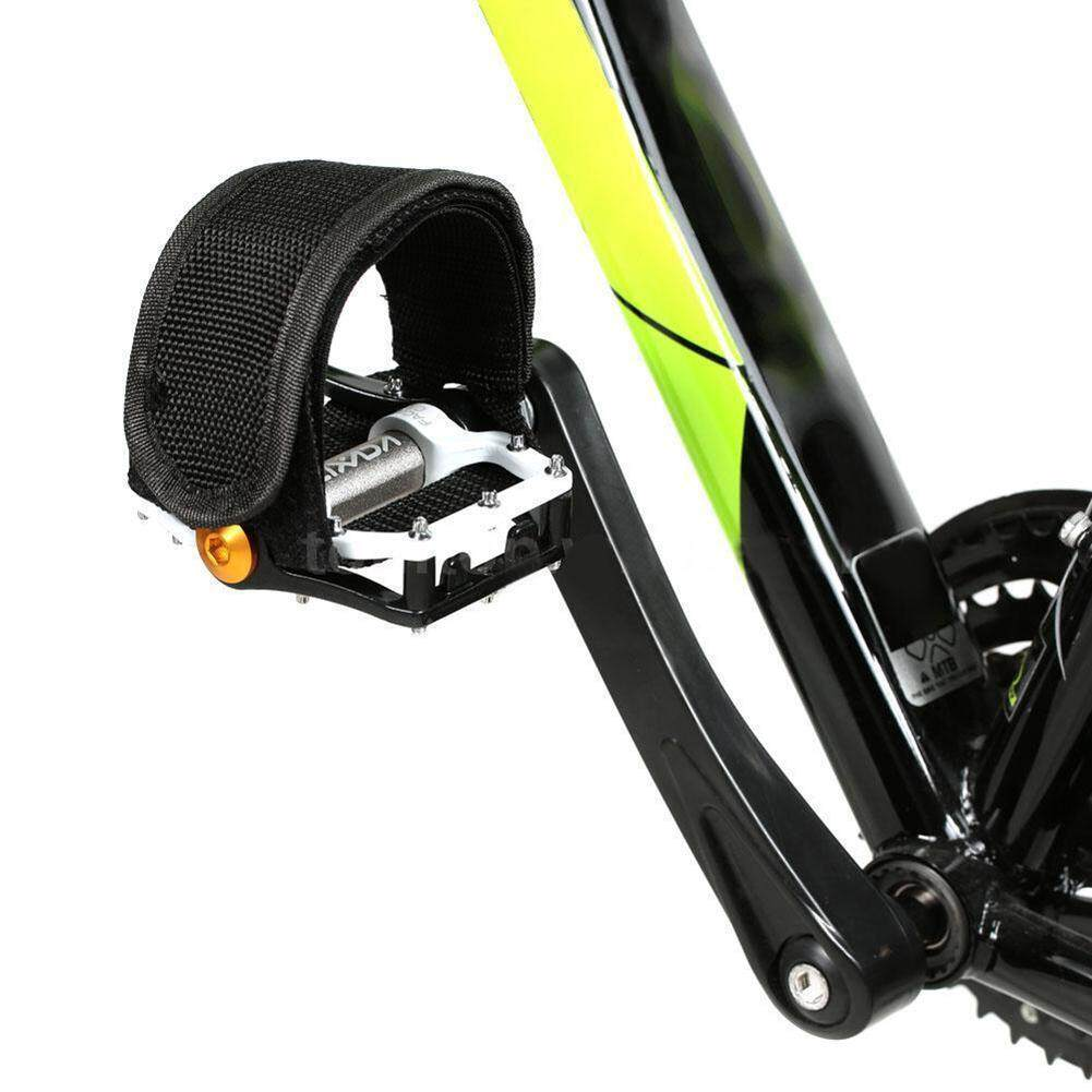 1pcs GREEN MTB// Fixed Gear// BMX  Bike//Cycle Quick Fit Pedal Toe Straps3