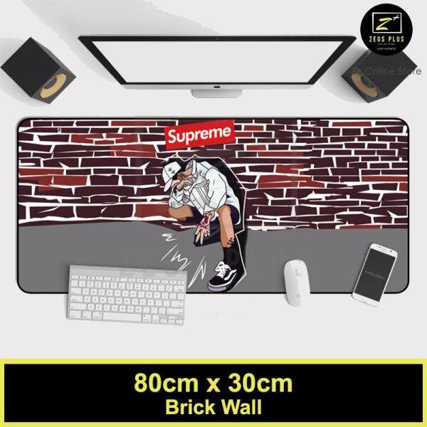 Z PLUS Supreme Large Gaming Thickened Desktop Keyboard Mouse Pad Laptop Accessory(BW) Malaysia