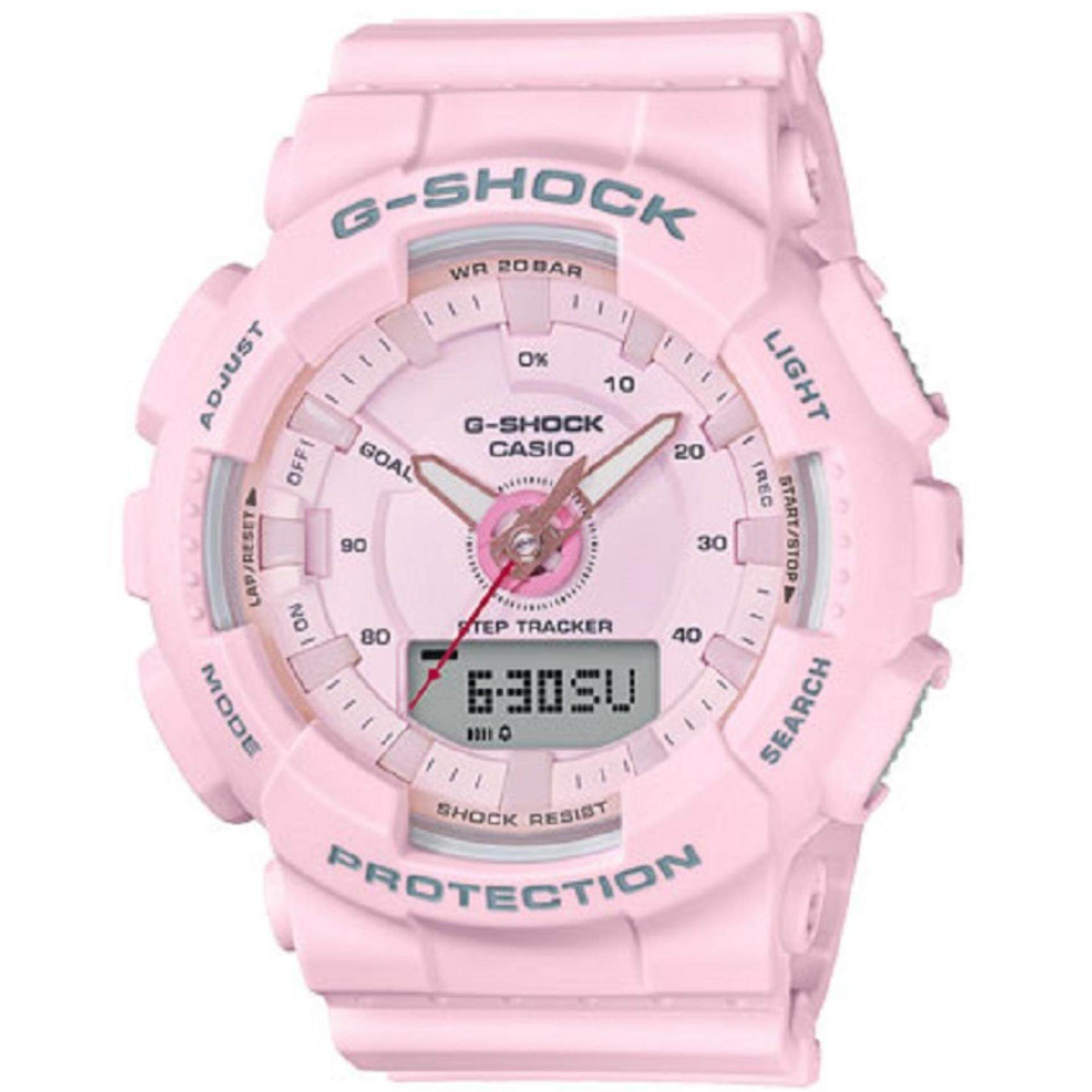 d0796691bbb01 Casio G-Shock Mini Pink Resin Strap Watch GMA-S130-4A