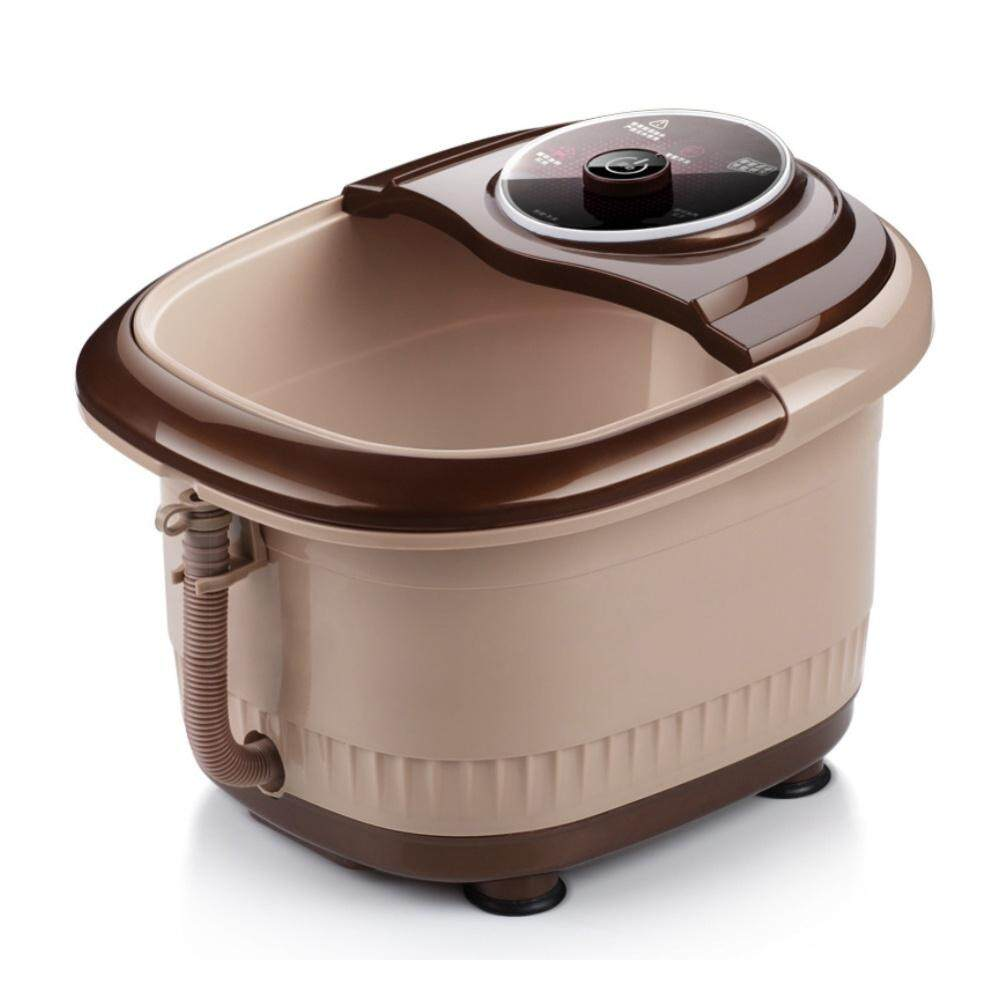 【normal Model】portable Automatic Reheat Foot & Leg Massage Bath Barrel By Bliss Home Living.