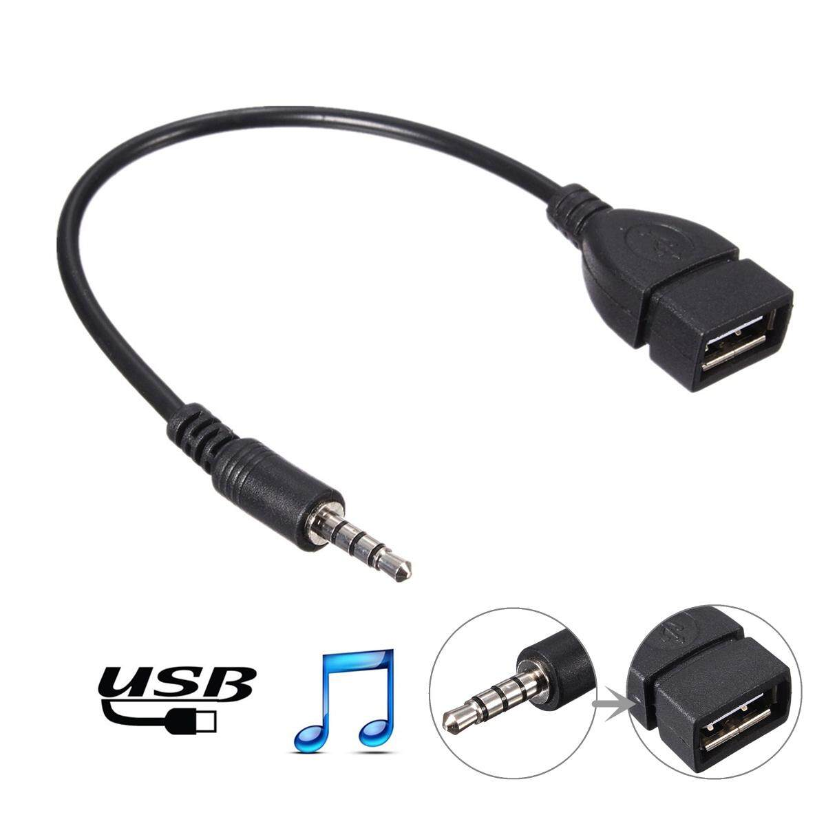 Shop Home Audio Accessories Buy At 25 Female Mono Jack Wiring 35mm Male Aux To Usb 20 Type A Otg Converter Adapter Cable