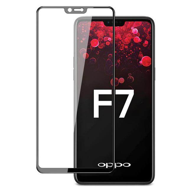 [2 PCS] Screen Protectors For OPPO F7 ,Tempered Glass Film Transparent Screen Protector