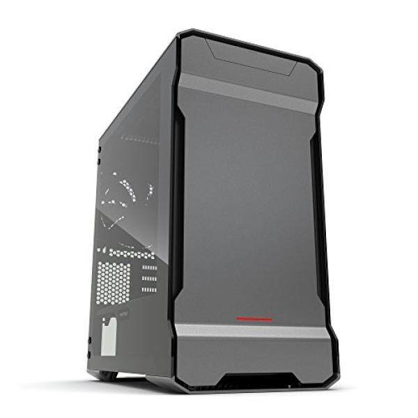 Phanteks PH-ES314ETG_AG EVOLV mATX Tempered Glass Edition Aluminum Exterior RGB LED Illumination Micro Tower Case Gray Malaysia