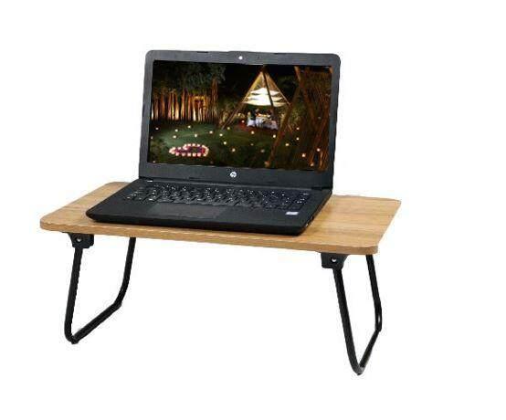 Okura Foldable Laptop Desk Portable Folding Computer Table