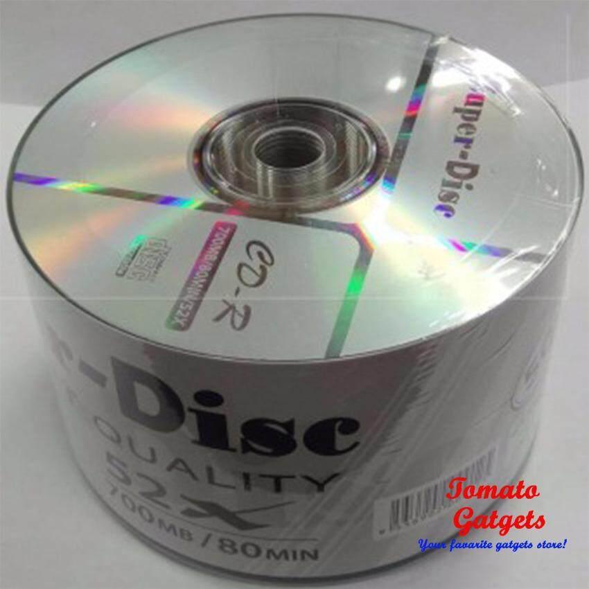 Super Disc 52X CD R Silver 50PCs
