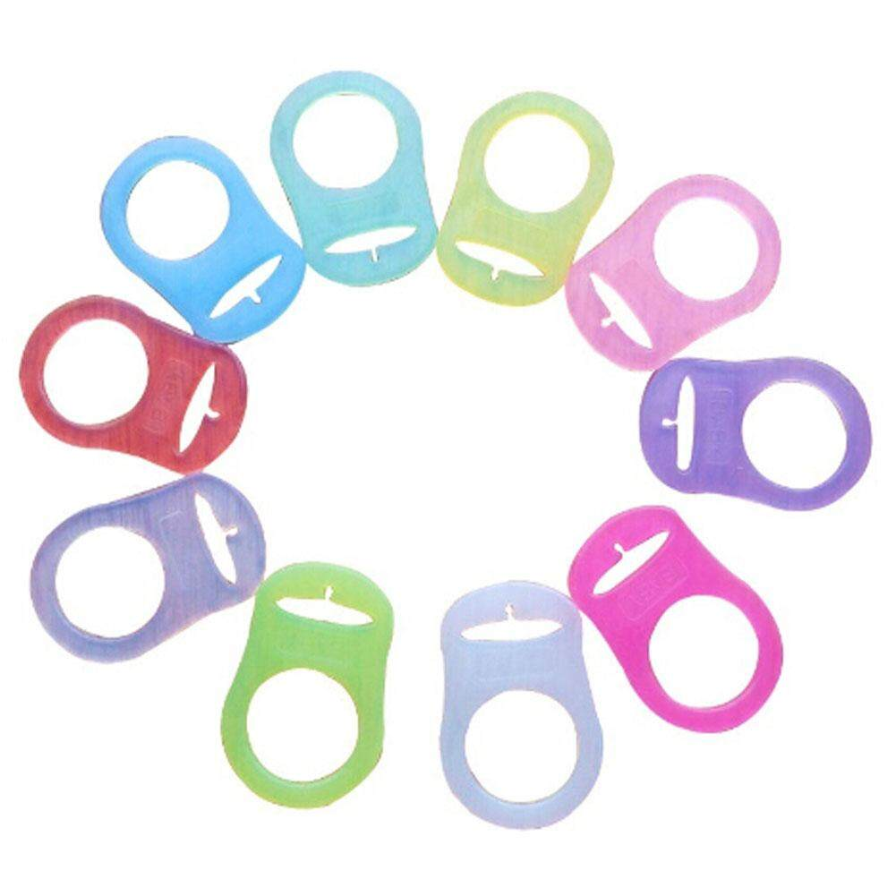 2pcs Silicone Baby Mam Rings Pacifier Holder Clip Dummy Clips By Yuee.