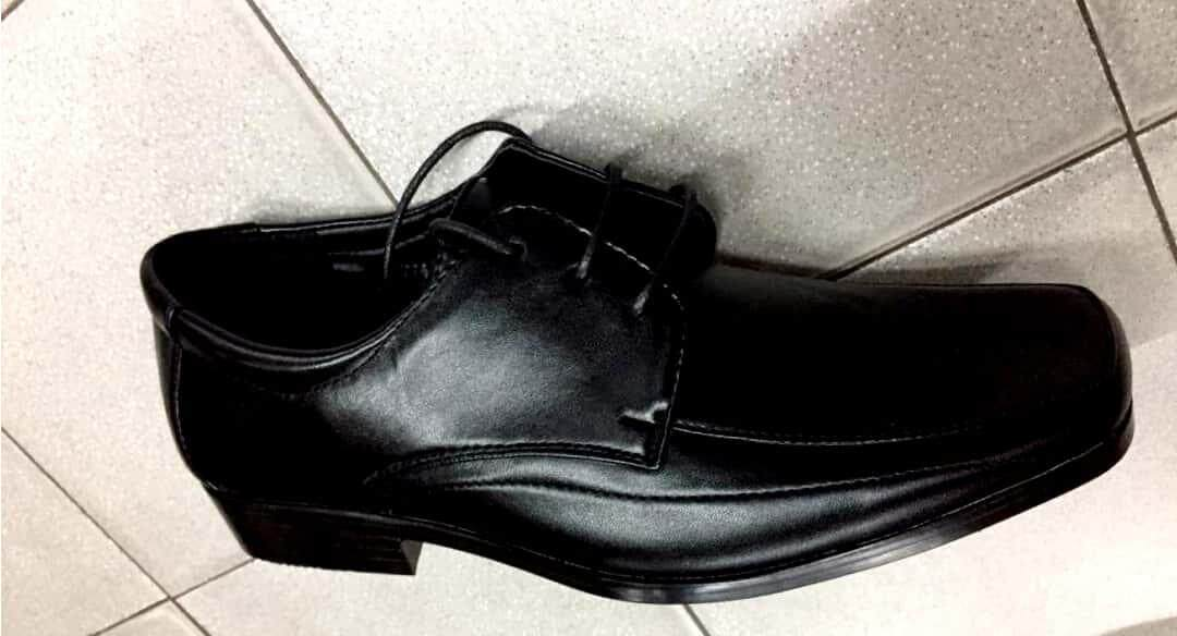 Men Black Shoe By Fortune 23 Trading.