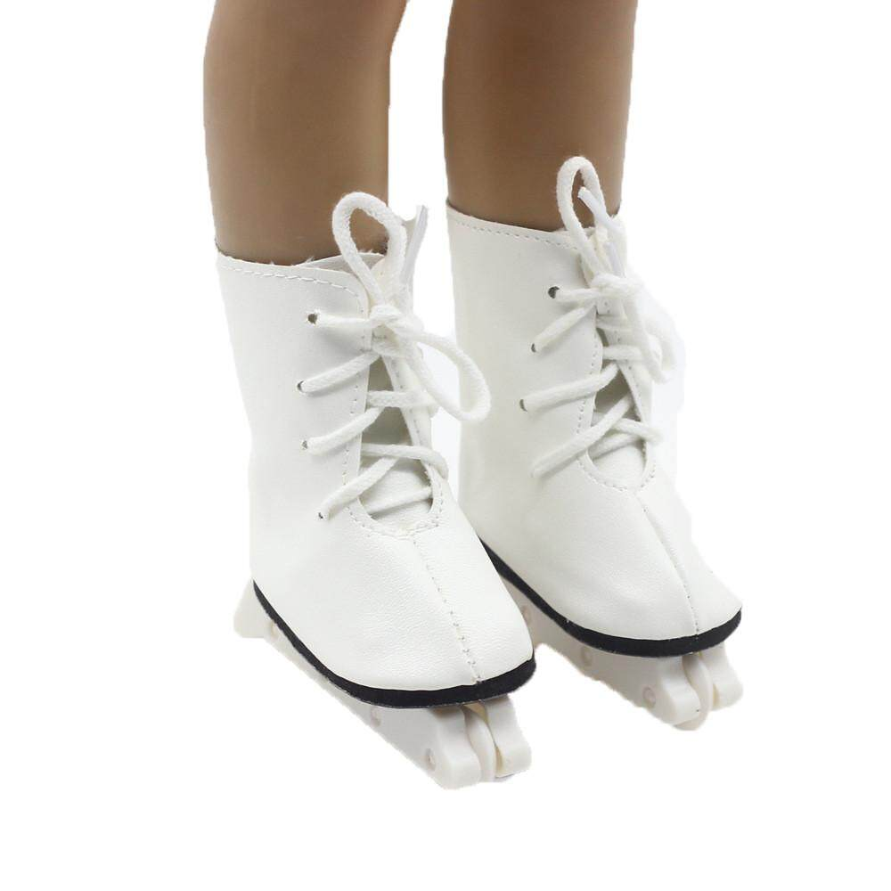【free Shipping】glitter Doll Roller Skates For 18 Inch Our Generation American Girl Doll Aitao By Aitaostore.