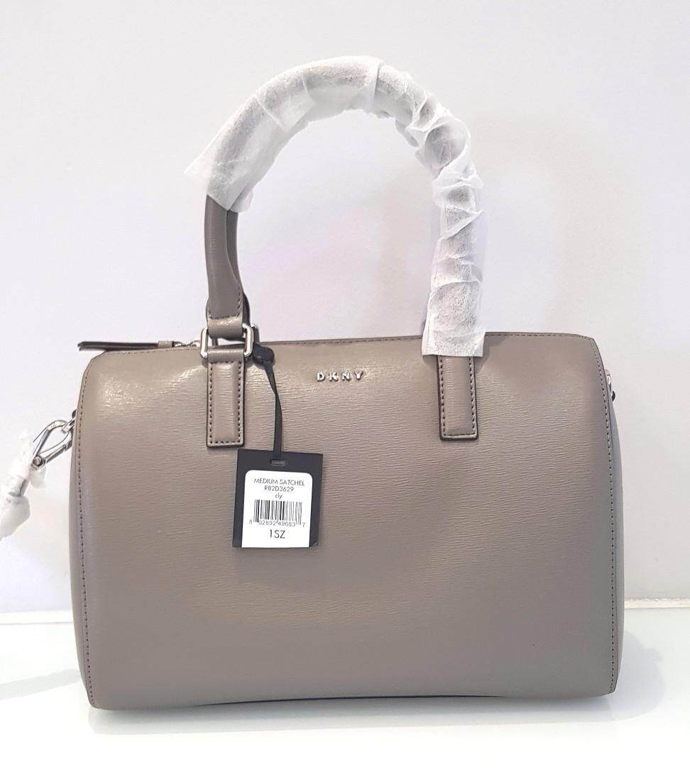 Dkny Crossbody Leather Medium Satchel Handbag