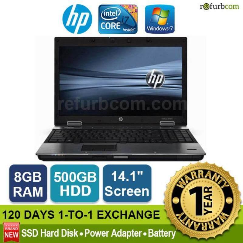 HP ELITEBOOK 8440P / INTEL CORE I7 1ST GEN (500GB SATA HDD,8GB) Malaysia