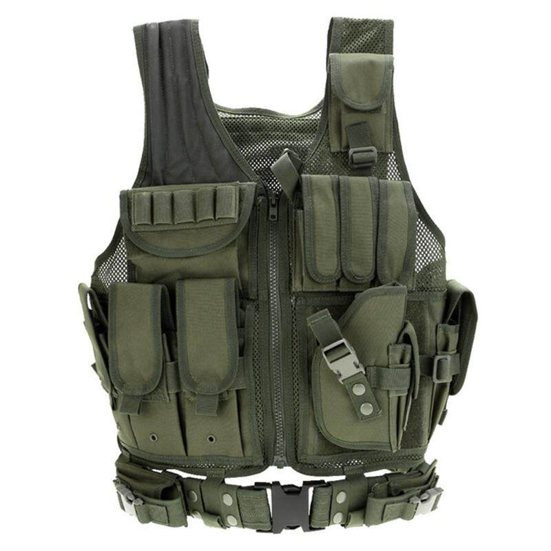 Men Cs Vest Molle Camouflage Vest Outdoor Military Tactical Vest Outdoor Jungle By Wenzhou Tall Luggage Manufacturing Co Ltd.