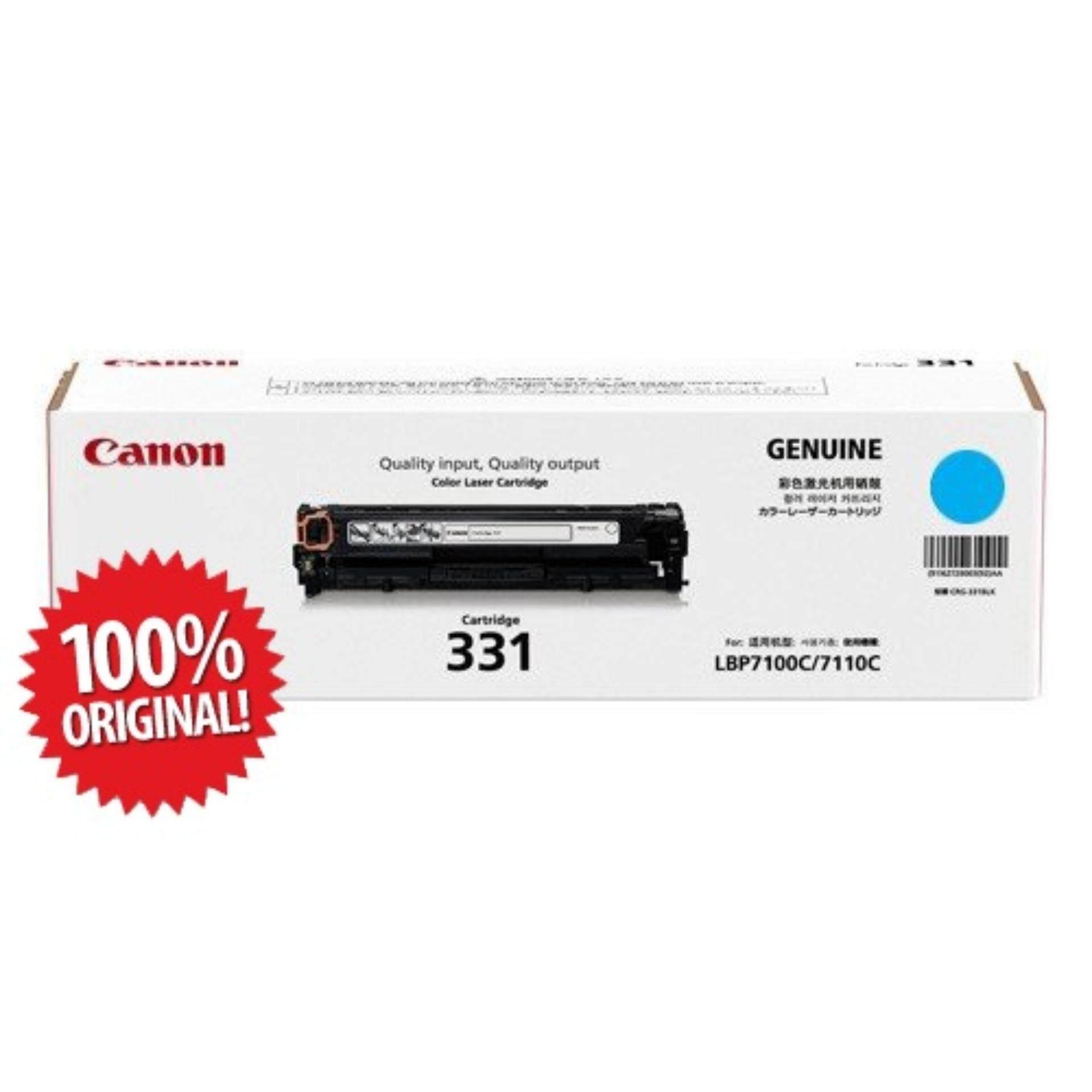 Canon Printers Accessories Price In Malaysia Best Head Ix6560 Genuine Original Cartridge 331 Black Cyan Yellow Magenta