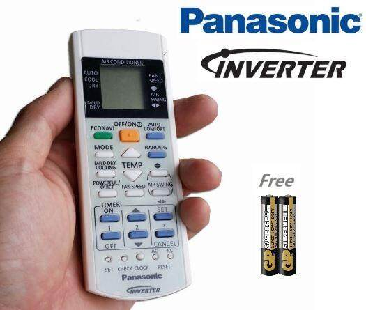 Panasonic Inverter Aircond Remote Control Econavi (free Batteries) By Cyberian Store.