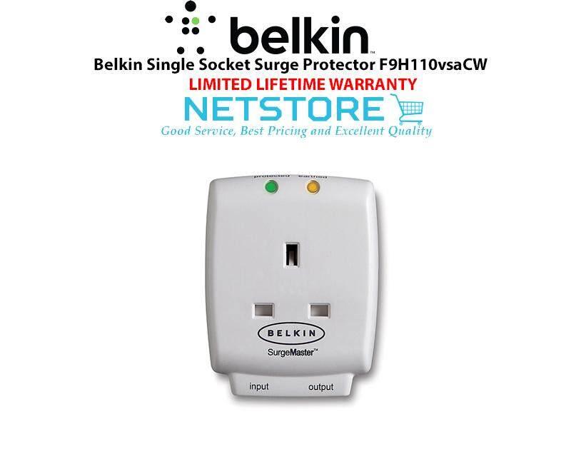 Belkin Advanced Series Single Socket Surge Protector F9H110vsaCW