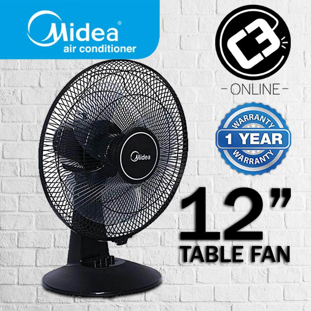 Latest Branded Fans With Best Online Price In Malaysia Mini Portable Fan Powerbank Kipas Angin Midea 12 Inch Table Mf 12ft16jc