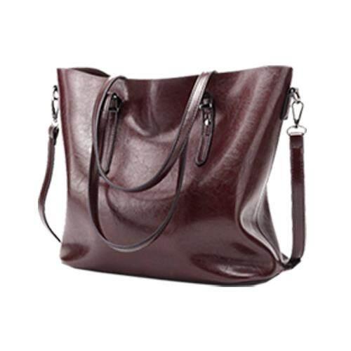 PU Women Leather Shoulder Bag Lady Sling Handbag Tote Purse Messenger  Crossbody 34ba4e035c