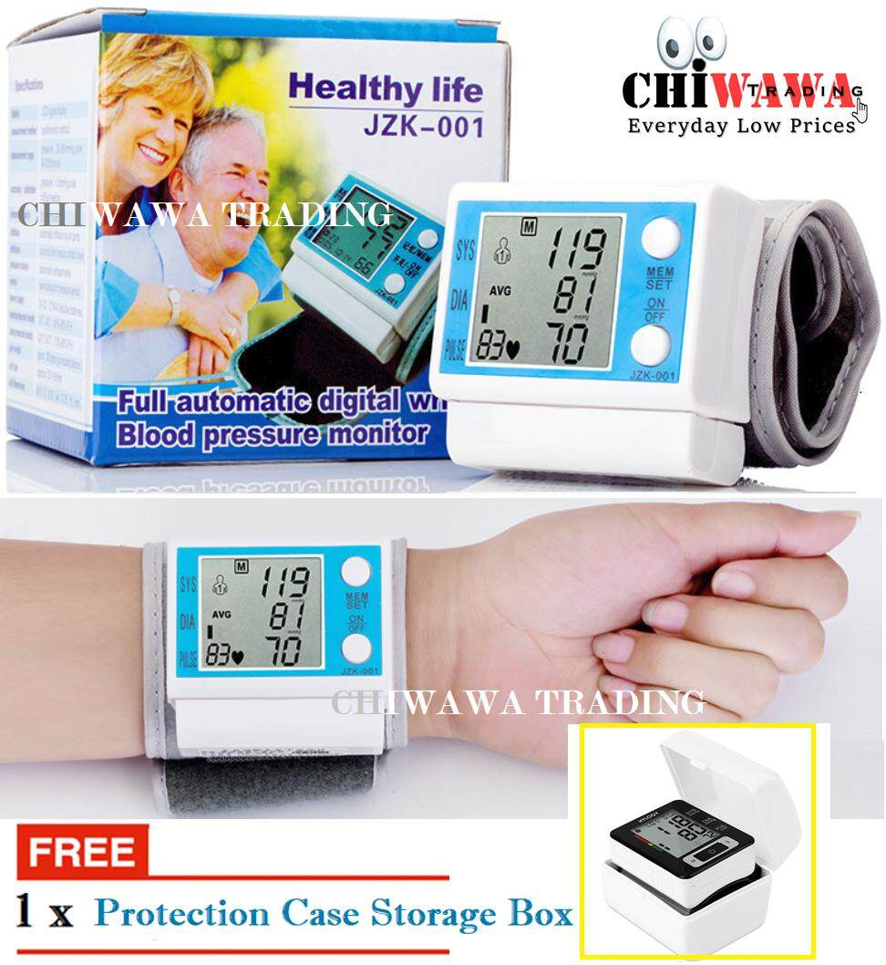 Blood Pressure Monitor Machine With Best Price In Malaysia Tensimeter Digital Sphygmomanometer Portable Alat Pengukur Tekanan Darah Jantung Free Gift 1 X Protection Caseelectronic Wrist Pulse And