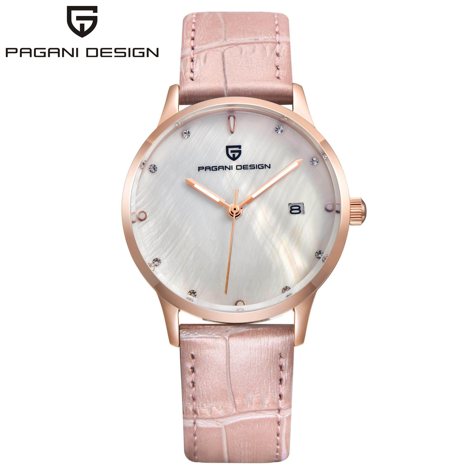 PAGANI DESIGN Brand Lady Fashion Quartz Watch Women Waterproof 30M shell dial Luxury Dress Watches Relogio Feminino Malaysia