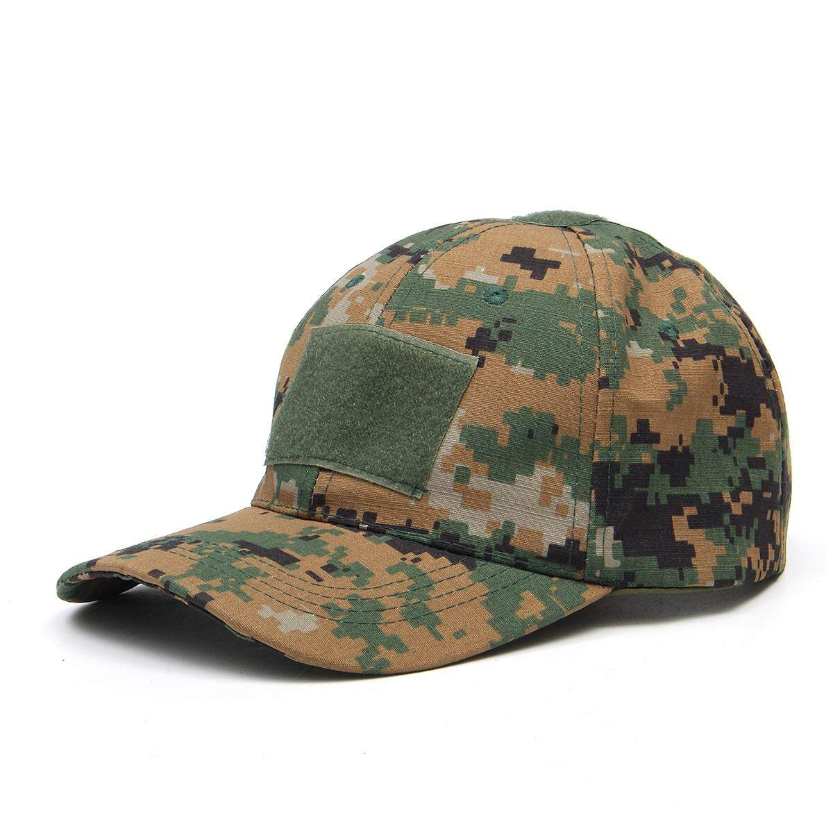 1a89797adb3 Tactical Camouflage Baseball Cap Military Adjustable Jungle Urban Retro Army  Hat