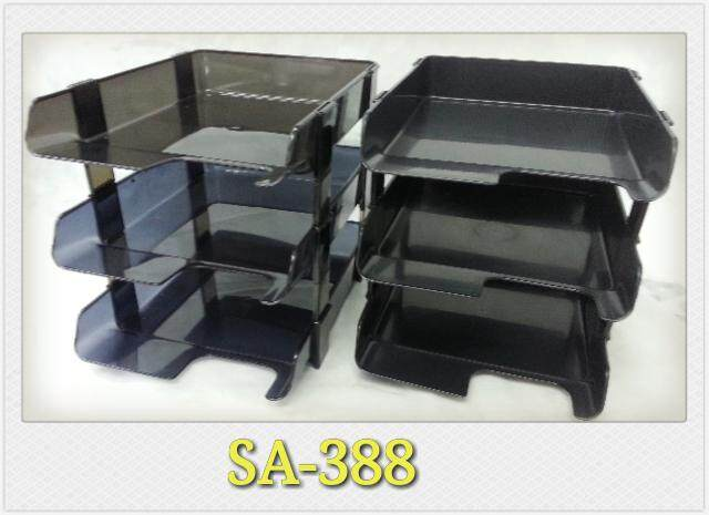 Solid Art Pp Document Tray 3-Tier (sa-388) By Solid Art Enterprise Sdn Bhd.