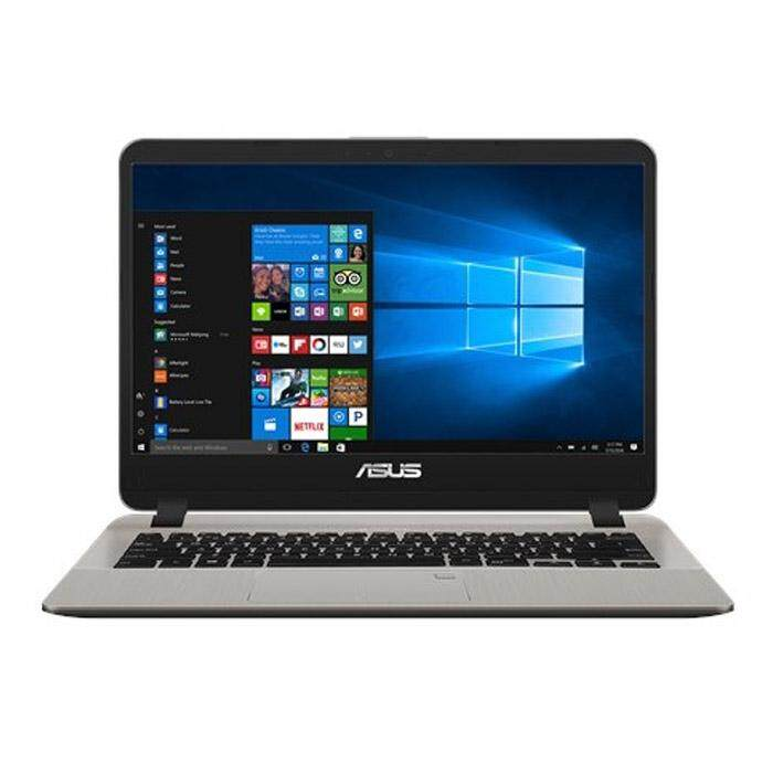 Asus Vivobook A407M-ABV101T 14 Laptop - Gold (Intel Pentium N5000, 4GB RAM, 256GB SSD, Intel HD Graphics, Win10) + Free Asus Backpack Malaysia