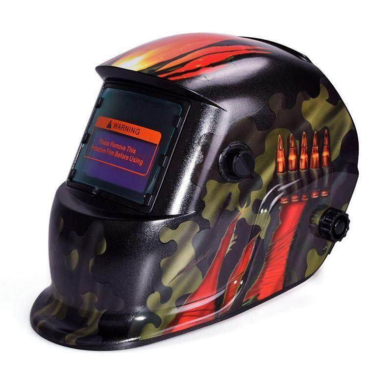 Auto Darkening Welding Helmet With Solar Powered Adjustable MIG TIG ARC Professional Welding Mask (Camouflage)