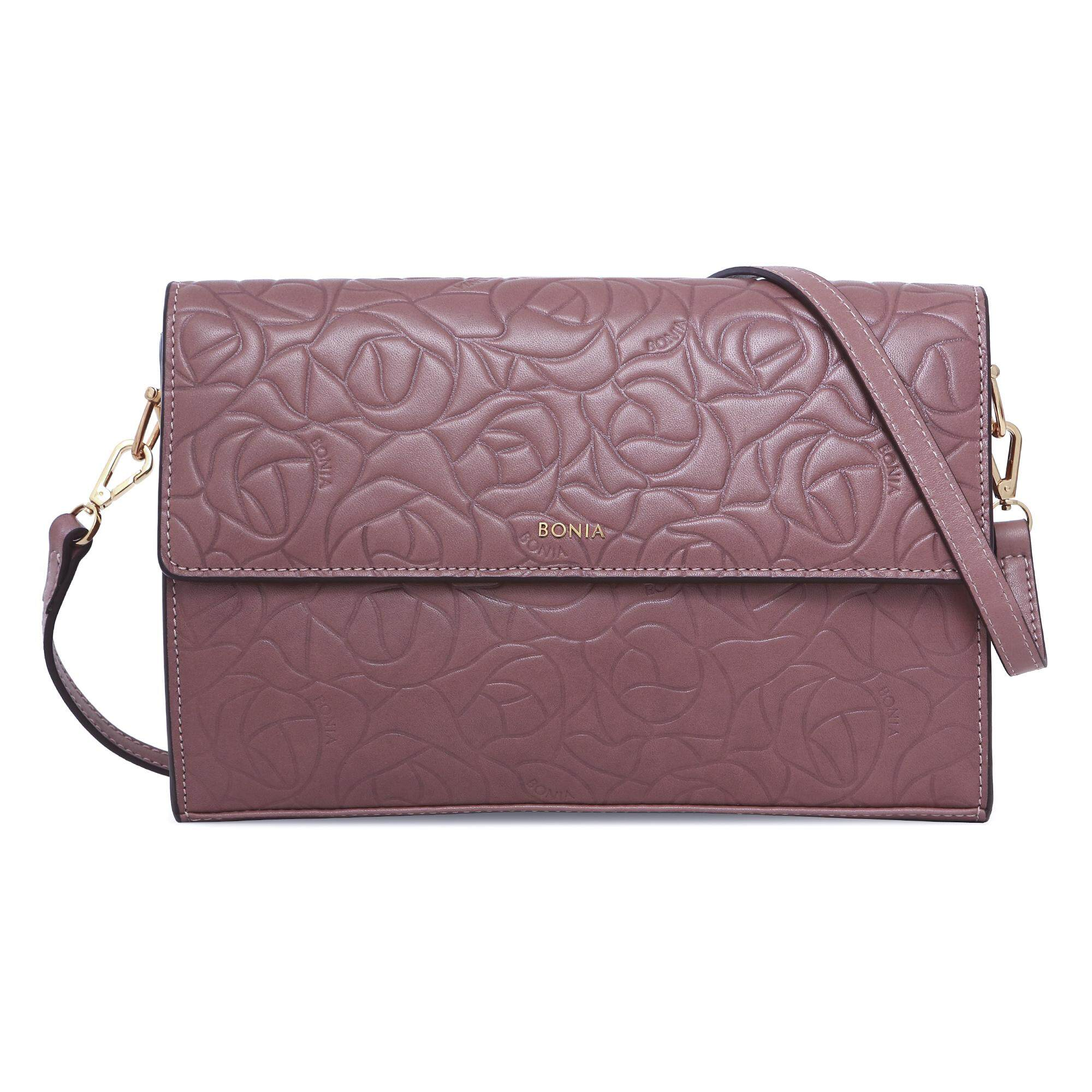 Bonia Orchid Regal Rose Clutch