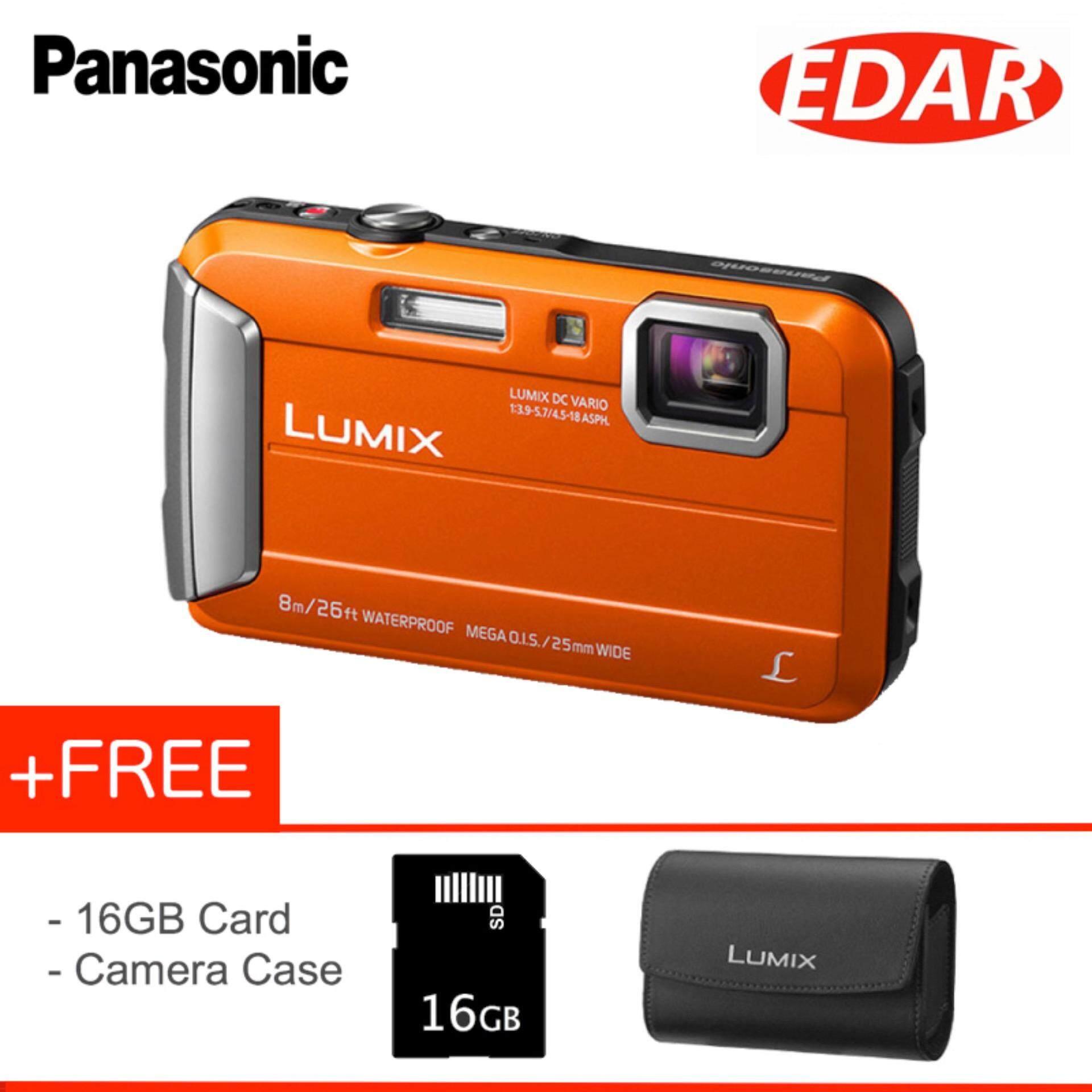 Panasonic Point Shoot Cameras Price In Malaysia Lumix Dmc Lx10 Digital Camera Black Dsc Ft30 16mp Waterpoof 161 Mp Orange
