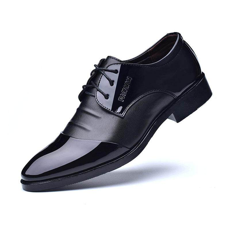 9db17f232795 WJKFGI Fashion Men Formal Shoes Business Affairs Style Large Code Casual  Leather Shoes
