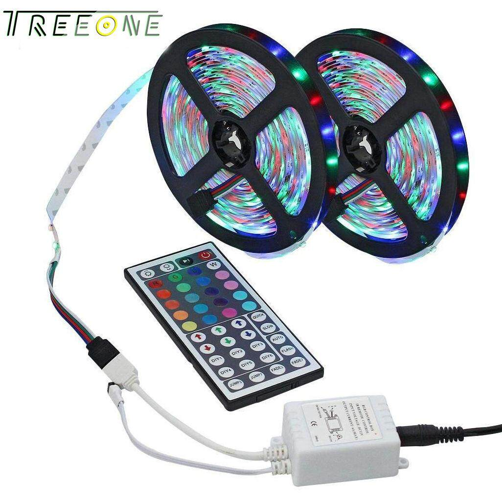 Home Led Strip Lighting Buy At Best Price Rgb With Controller China 2 Rolls 10m 328ft 3528 Smd 600leds Color