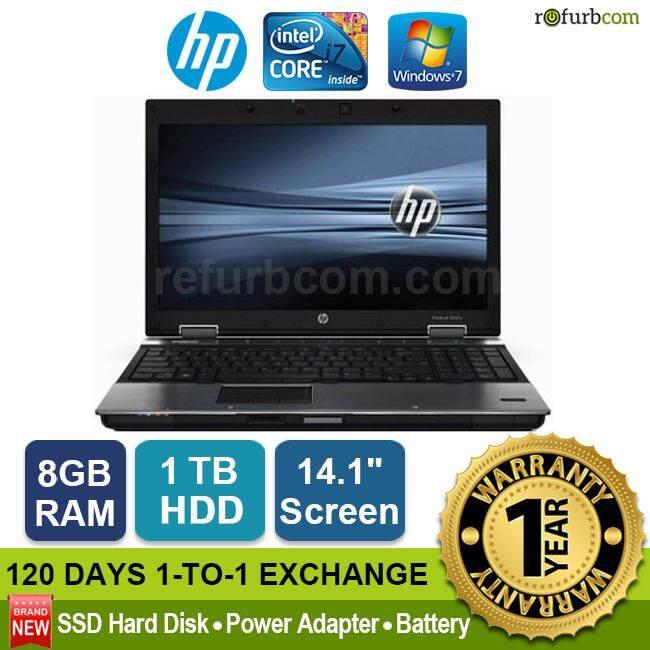 HP ELITEBOOK 8440P / INTEL CORE I7 1ST GEN (1TB SATA HDD) Malaysia