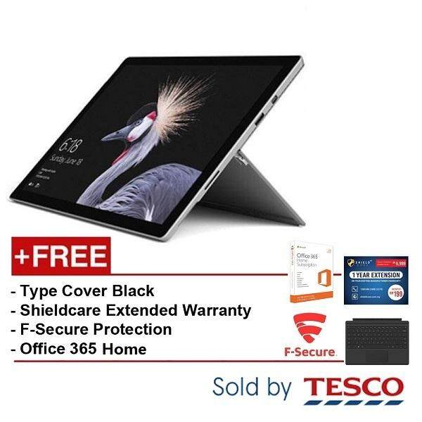 Microsoft Surface Pro (KJR-00012) i5 / 8G / 128GB + Type Cover Black + Ext. Warranty + FSecure + Office365 Home Malaysia