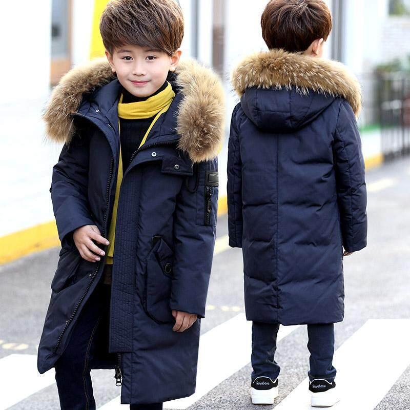 a255b65bd08 Warm Winter Children down Jackets boy s duck Down Outerwear Coats Down  Parkas Kids jacket Children Outerwears