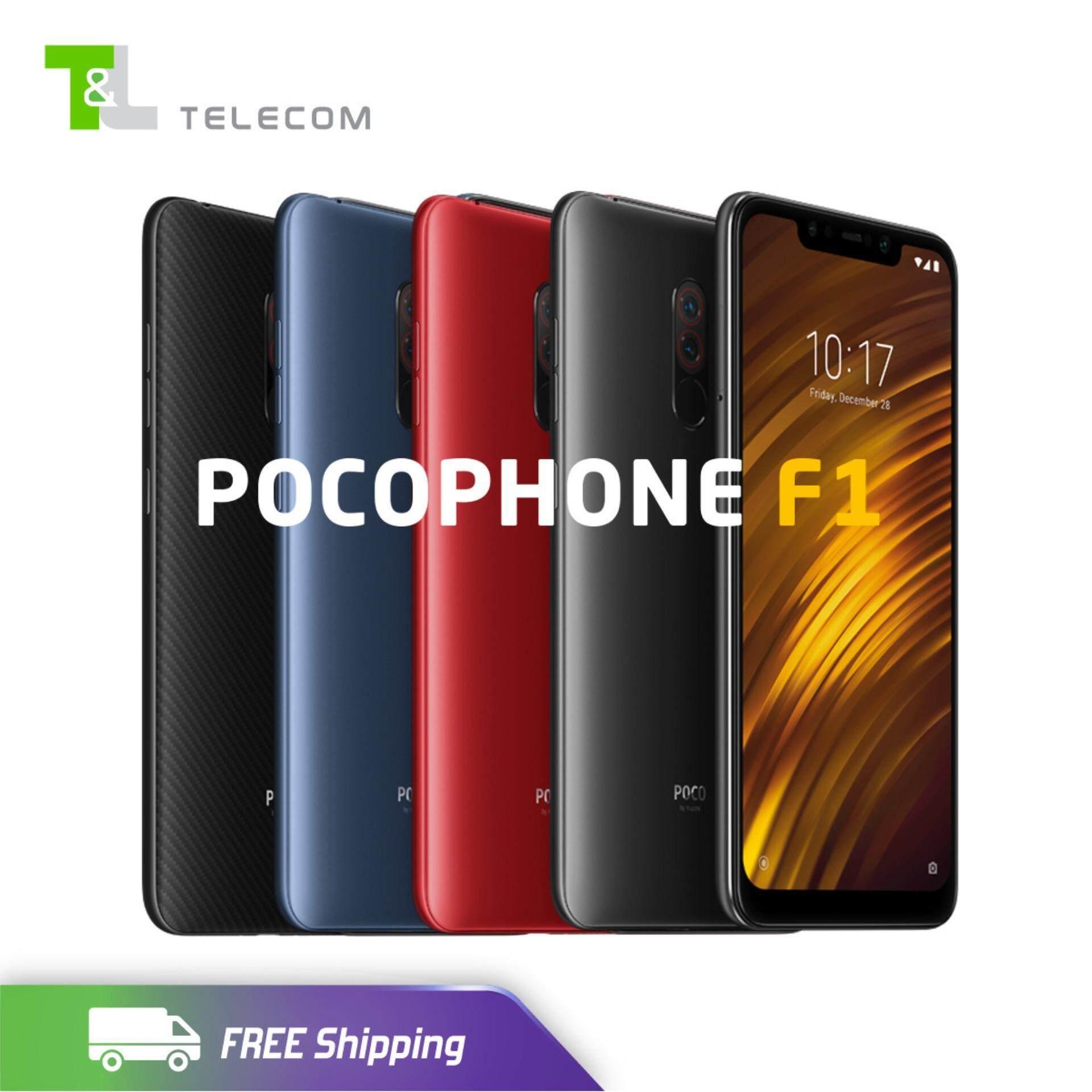 Xiaomi Pocophone F1 (64GB+6GB RAM, 128GB+6GB RAM) Dual Sim LTE - Global ROM/ New/ Local Seller 1 Year warranty