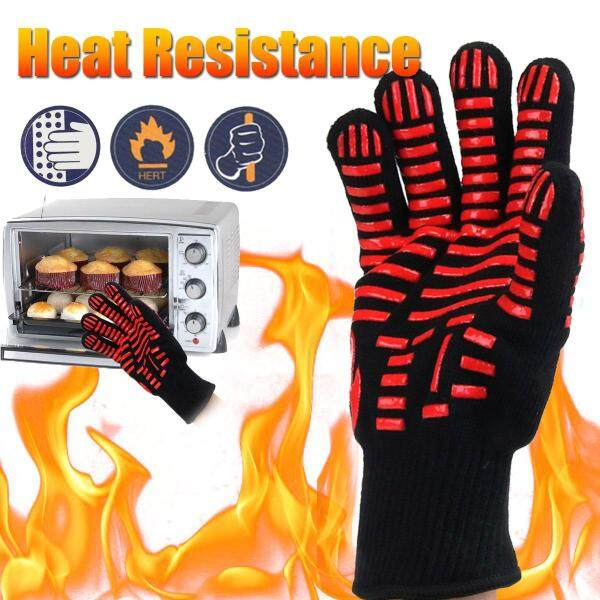 500℃ Extreme Heat Resistant Gloves BBQ Oven Pot Grill Cooking Baking Weld Mitt