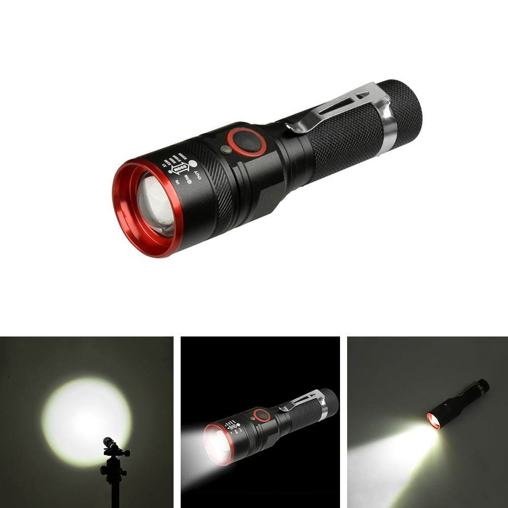 Home Rechargeable Flashlights Buy High Power Uv Led Flashlight Selection And Schematic Xml T6 Micro Usb Charging With Indicator Adjustable Focus Edc Series 18650 Aluminum Alloy