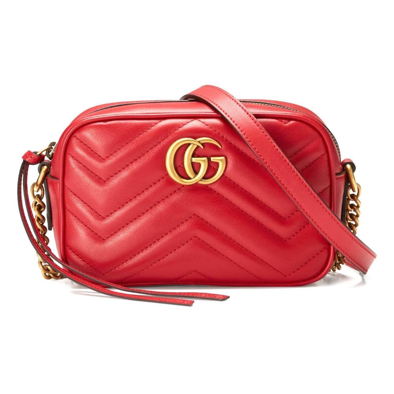 224b08408a4 Gucci 448065 DRW1T 6433 GG Marmont Matelasse Mini Crossbody Bag
