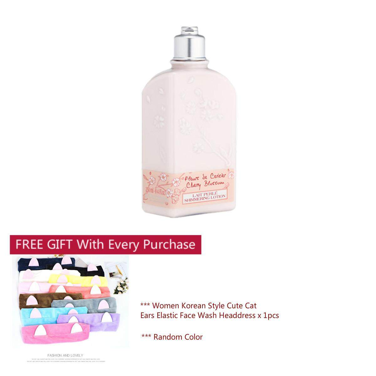 Loccitane Health Beauty Price In Malaysia Best Buy 1 Get White Garden Hand Ampamp Body Lotion Pink Rose 250ml Cherry Blossom Shimmering