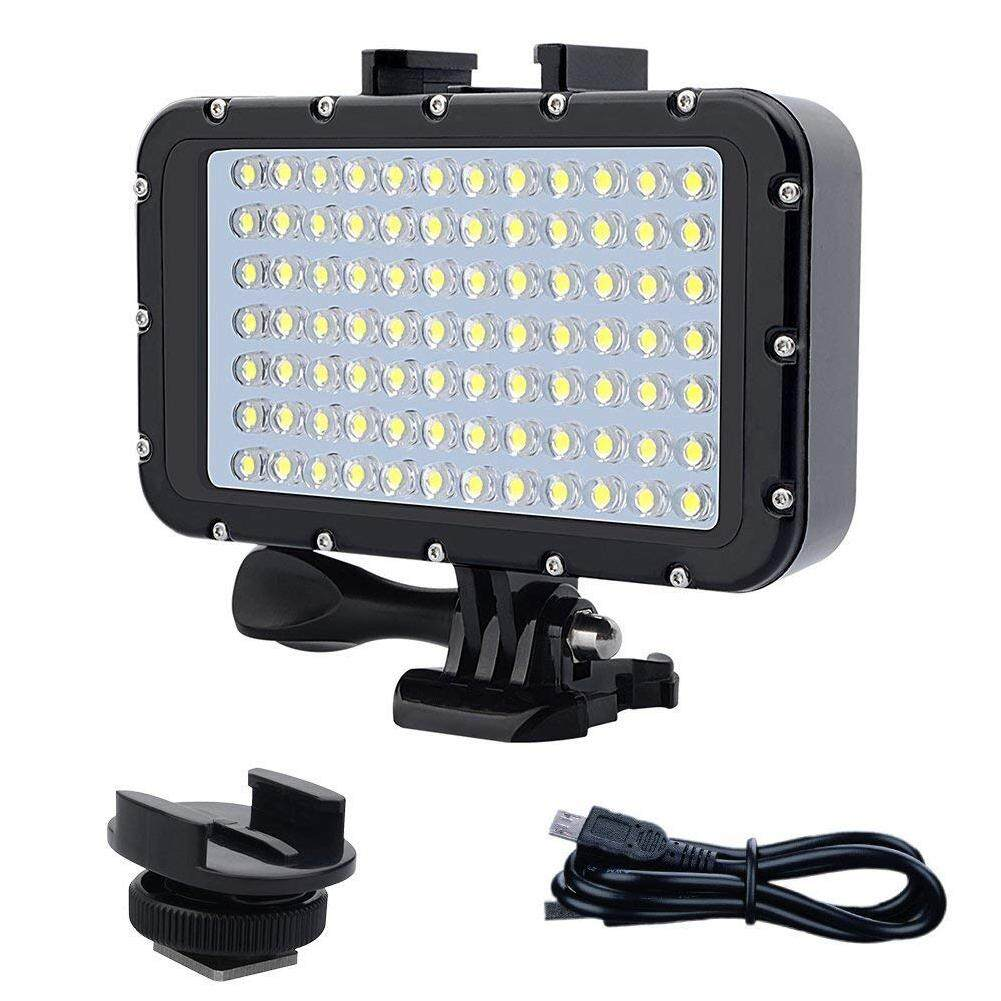 Big House 84 Led High Power Dimmable Waterproof Led Video Light Waterproof 164ft(50m) Underwater Lights Dive Light For Gopro Canon Nikon Pentax Panasonic Sony Samsung Slr Cameras By Big House.