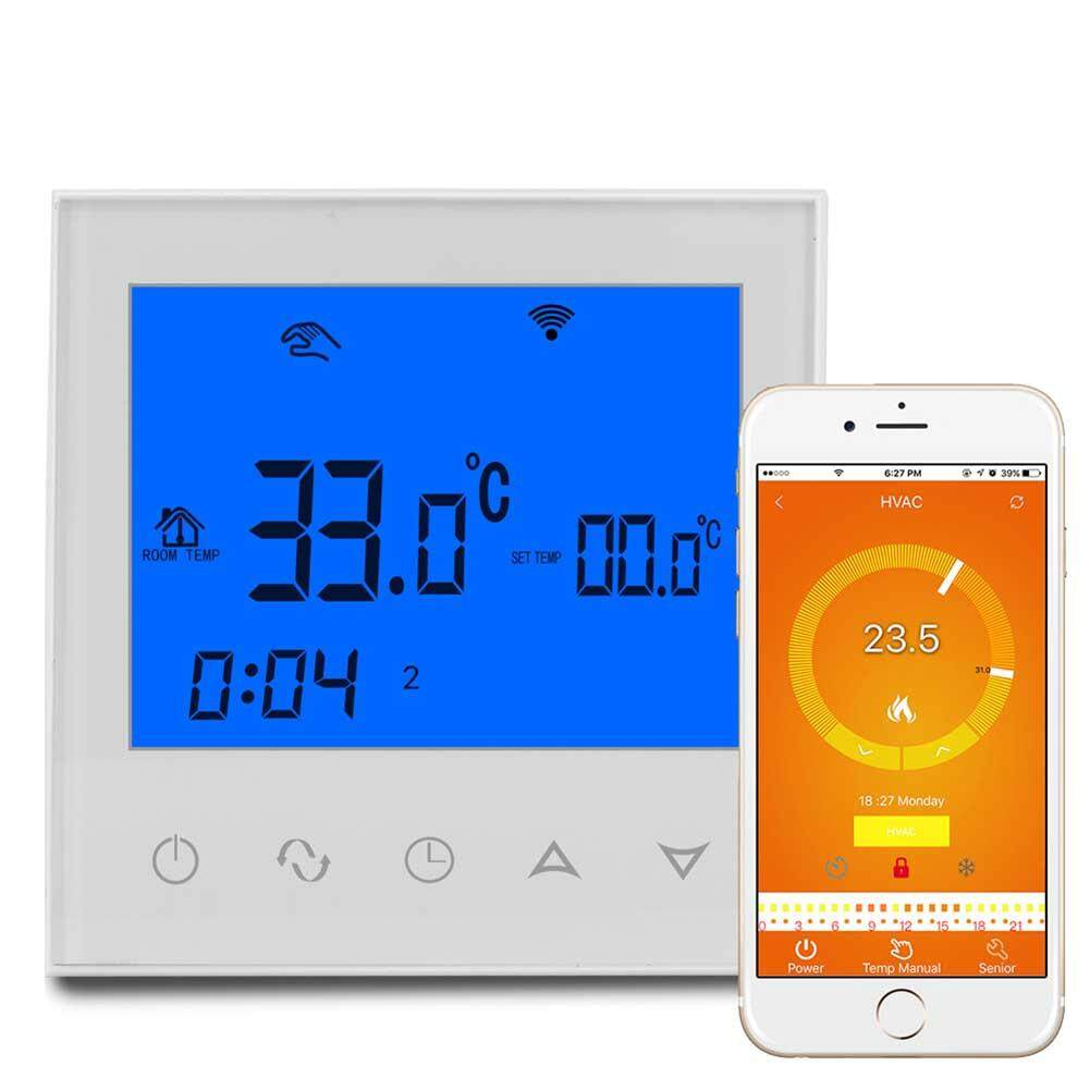 WIFI Touch Type LCD Thermoregulator Digital Thermostat for Water Heating