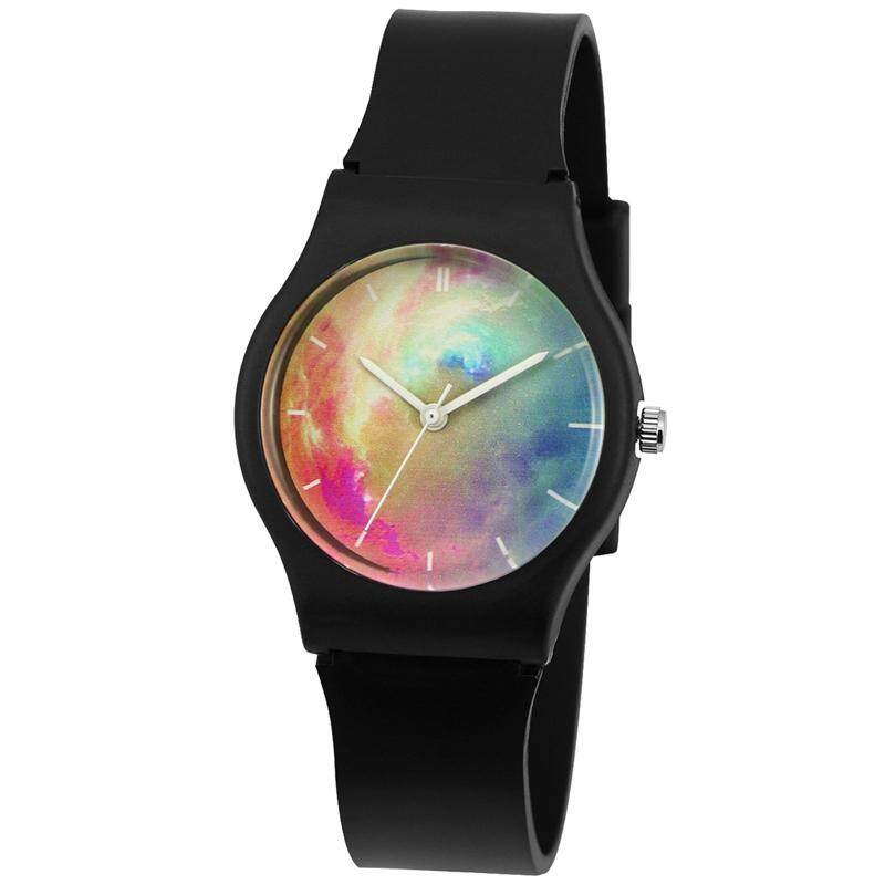 WILLIS Cool Girls Watch, Starry Dial Silicone Band black Malaysia